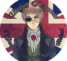 Hetalia: UK by pandaleon