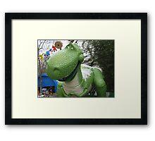Rex 2 Framed Print