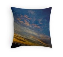 Beautiful Birthday Sunset Throw Pillow