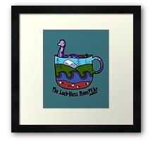 Loch-Ness MonsTEAr Framed Print