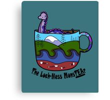 Loch-Ness MonsTEAr Canvas Print