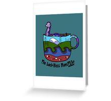 Loch-Ness MonsTEAr Greeting Card