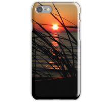 Sunset - Lake Michigan iPhone Case/Skin