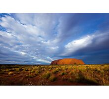 Ayers Rock Sunset Photographic Print