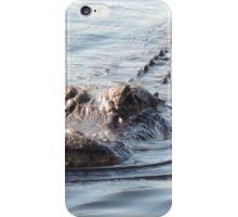 Smile gator smile iPhone Case/Skin