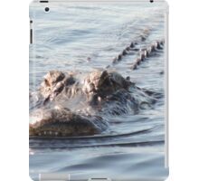 Smile gator smile iPad Case/Skin