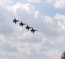 Chicago Air Show III by zwrr16