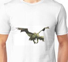 Green Dragon in Flight Unisex T-Shirt