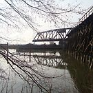 An old bridge upon the Fraser river! by Mamilene