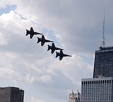Chicago Air Show I by zwrr16