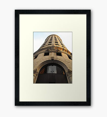 Turk's Head Building, Providence Framed Print