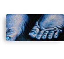 Analysis of Feet Canvas Print
