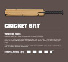 Zombie Weapons - Cricket Bat Kids Clothes