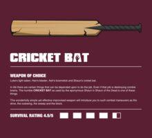 Zombie Weapons - Cricket Bat T-Shirt