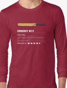 Zombie Weapons - Cricket Bat Long Sleeve T-Shirt