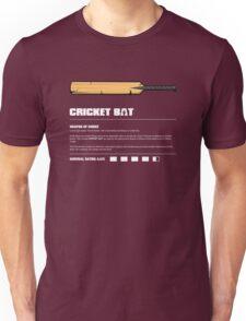 Zombie Weapons - Cricket Bat Unisex T-Shirt