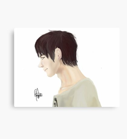 Eren Jeager Digital Painting Canvas Print