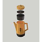 Yellow Coffee Pot by Sam Henderson