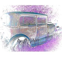 Old 1926 Ford ! This Ones for the Girls ! 2 of 2 Pictures  Photographic Print