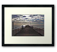 Henley Beach Jetty - South Australia Framed Print