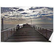 Henley Beach Jetty - South Australia Poster