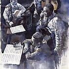 Jazz Parker Tristano Bauer Safransky RCA studio NY 1949 by Yuriy Shevchuk