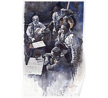 Jazz Parker Tristano Bauer Safransky RCA studio NY 1949 Poster
