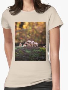 October Light Womens Fitted T-Shirt