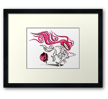 Amaterasu Framed Print