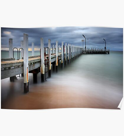 Safety Beach Jetty Poster
