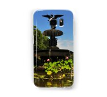 Bethesda Terrace Fountain - Central Park, NYC Samsung Galaxy Case/Skin