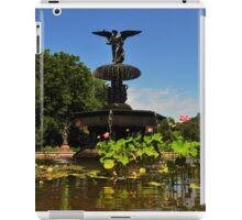 Bethesda Terrace Fountain - Central Park, NYC iPad Case/Skin