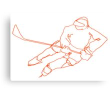 Hockey Player 6 Canvas Print