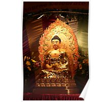 Buddha Statue by Fo Guang Shan @ Chinese pre-New Year Festival, Australia Poster