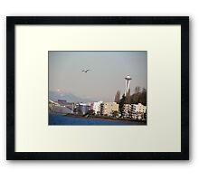 A Sunny Winters Day Framed Print