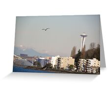 A Sunny Winters Day Greeting Card