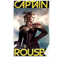 Captain Rousey Poster