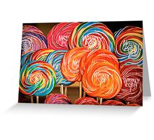 Lollipops Greeting Card