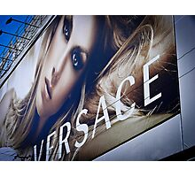 Heaven is a brand called Versace Photographic Print