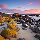 Taroona Beach Sunrise #4 by Chris Cobern