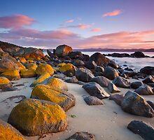Taroona Beach Sunrise #4 by Chris Cobern