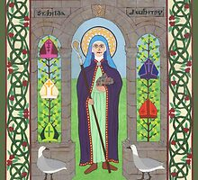 Icon of St. Hilda by David Raber