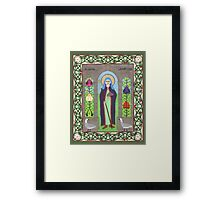Icon of St. Hilda Framed Print