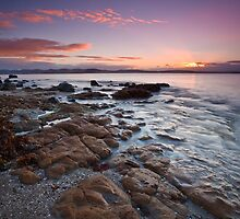 Taroona Beach Sunrise #6 by Chris Cobern