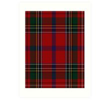 00409 Brown of Castledean Tartan  Art Print