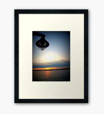 Lomography Sunset Framed Print