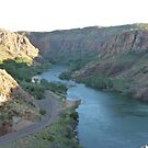 The beautiful Ord river , North Australia , Taken from Lake Argyle by Virginia  McGowan