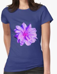 purple vintage flower T-Shirt
