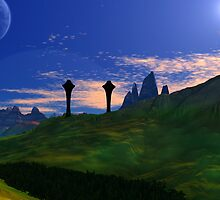 Pillars of Llall - Earthsea. by AlienVisitor