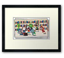 JLA Year 1 Framed Print